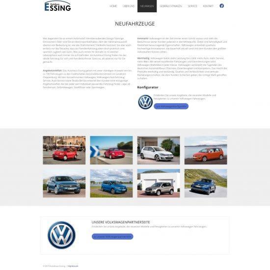 Websitereferenzen_AutohausEssing_Unterseite