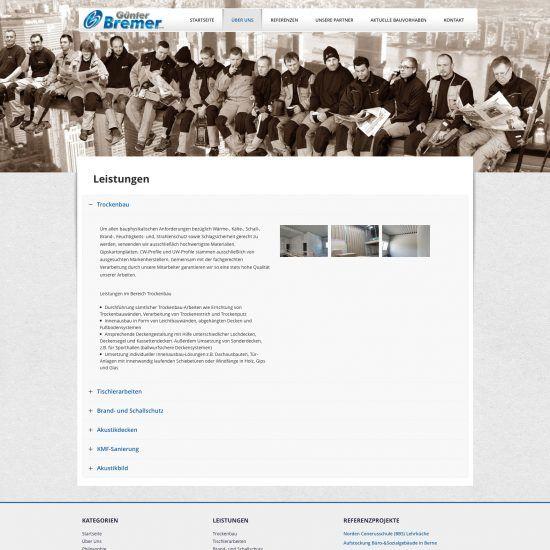 Websitereferenzen_BremerTrockenbau_Unterseite