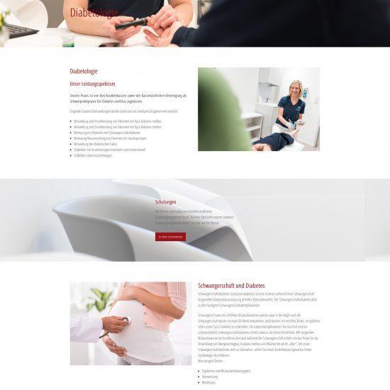 Websitereferenzen_Diabetologie_Unterseite