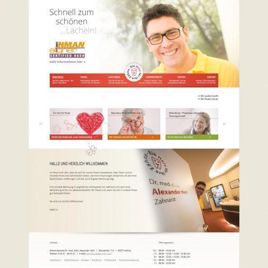 Websitereferenzen_DrHerz_Startseite