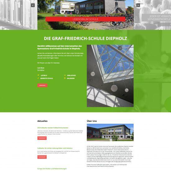 Websitereferenzen_GymnasiumDiepholz_Startseite