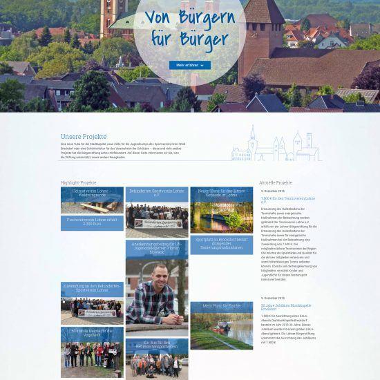 Websitereferenzen_LohnerBuergerstiftung_Startseite